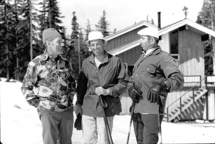 White Pass Posers LexMaxwell, DaveMahre, Marcel Schuster c1980's 01A 149-001