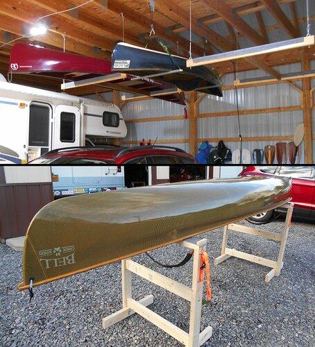 Canoe-Racks-Stands