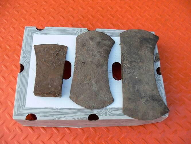 Vintage axes from Kansas