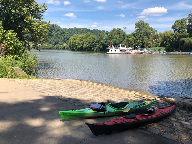 kayaks_Yough_ramp