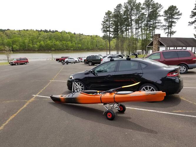My Kayak and Dolly
