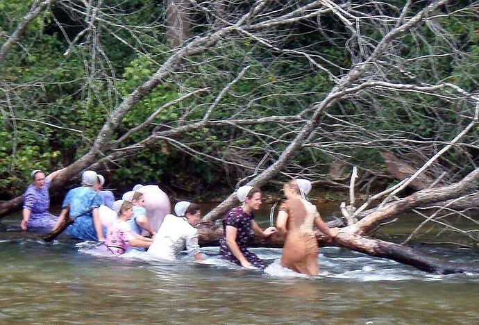 Amish river sirens..............