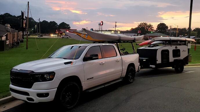 6 kayaks
