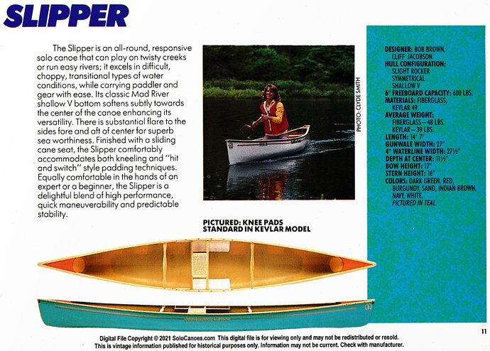 Slipper-catalog page