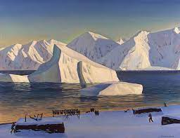 Rockwell Kent Greenland Coast
