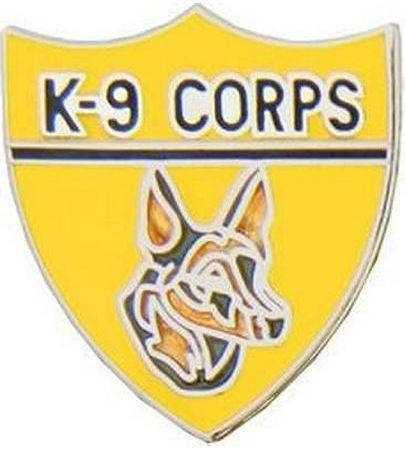 US Army K-9 Corps badge