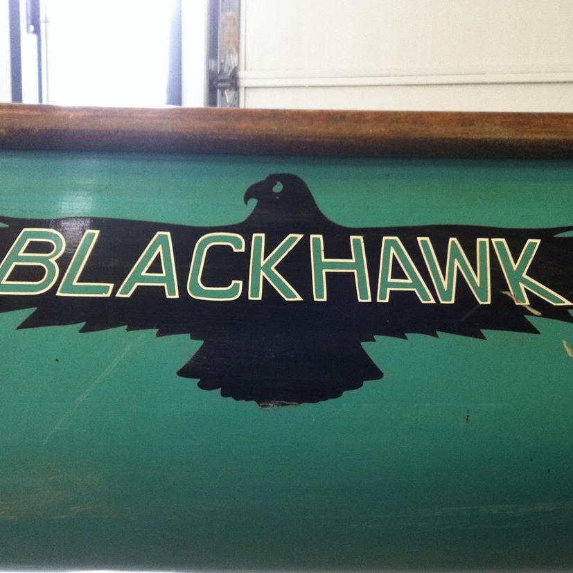 Blackhawk Canoes logo