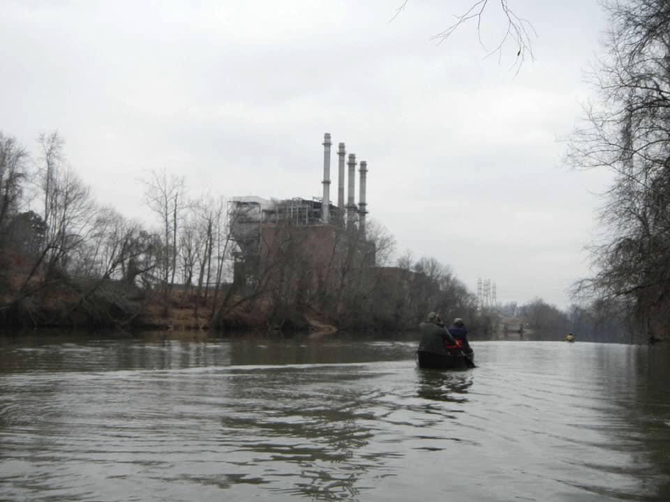 Dan River dam
